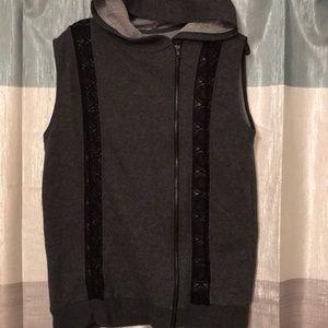 Adorable Fabletics hooded vest